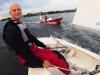 Michael sailing home