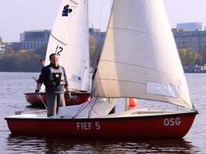 Moewenregatta2012 - Gregor auf Fief