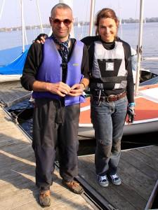Moewenregatta2012 - Siegerteam SvenArne und Sigrid
